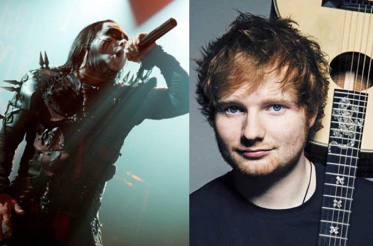 Cradle of Filth Frontman Hints at Ed Sheeran Collaboration