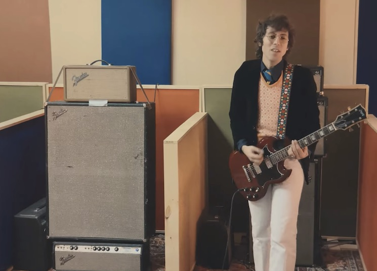 Daniel Romano's Outfit Deliver Colourful 'First Yoke' Video