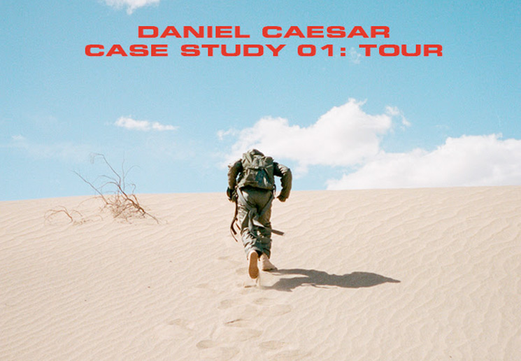 Daniel Caesar Plots 'CASE STUDY 01' Tour