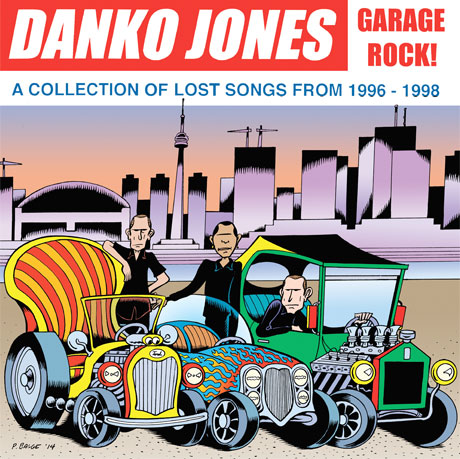Danko Jones Dig into the Vaults for 'Garage Rock!' Outtakes Comp