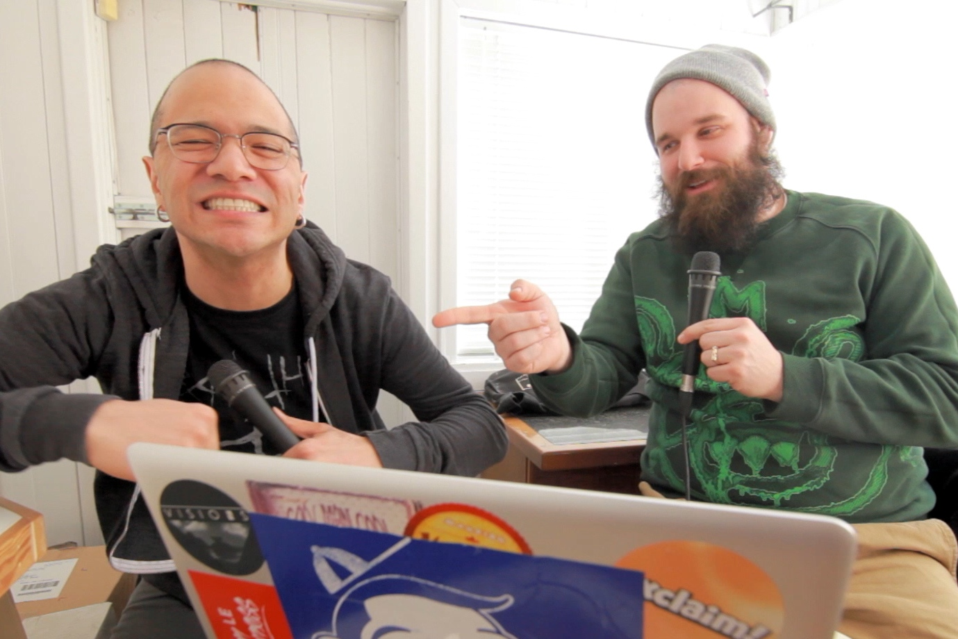 Danko Jones and Damian Abraham on Exclaim! TV Chatroom (Part 2)