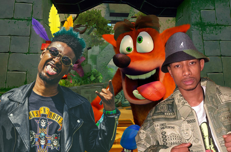 Hear ZelooperZ and Danny Brown Rap on the 'Crash Bandicoot' Theme