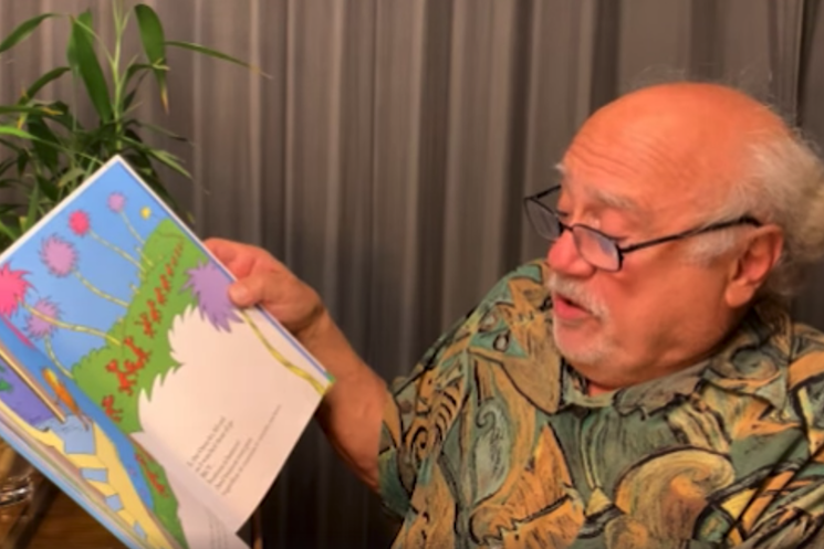 Listen to Danny DeVito Read Dr. Seuss's 'The Lorax'