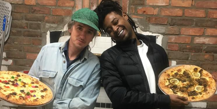 Danny Brown Designs Questionably Flavoured Charity Pizzas