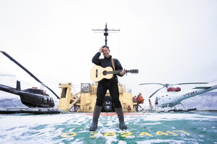 Where I Play Danny Michel Aboard the Khlebnikov