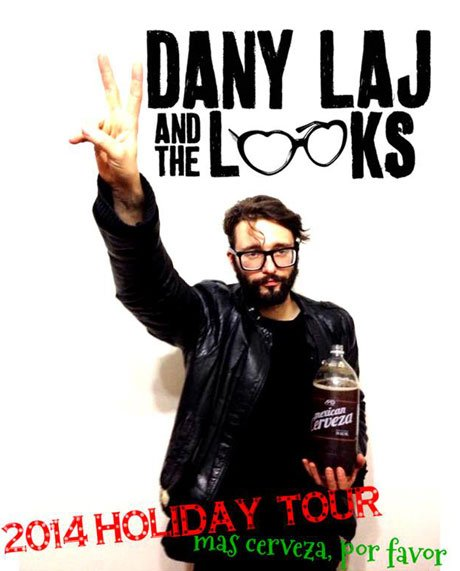Dany Laj and the Looks Hit the Road for Holiday Tour