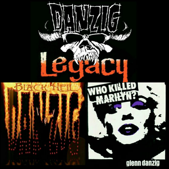 "Danzig to Reissue ""Who Killed Marilyn?"" and ""Black Hell"""