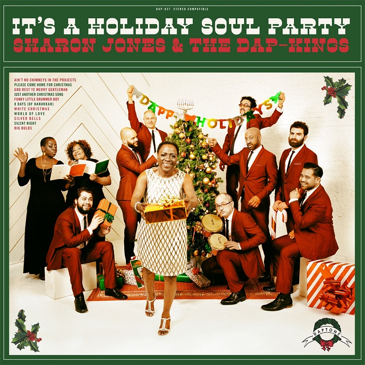 Sharon Jones Gets in the Christmas Spirit with 'It's a Holiday Soul Party'