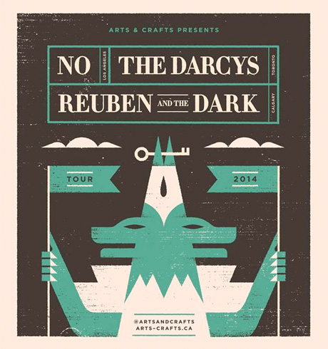 The Darcys Map Out North American Tour with Reuben and the Dark and NO, Share New Video
