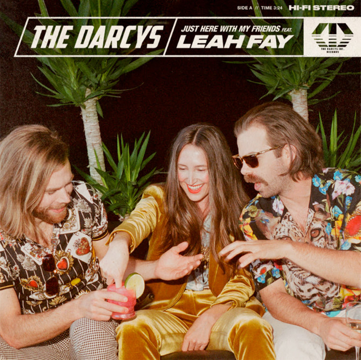 ​The Darcys Team Up with July Talk's Leah Fay on 'Just Here with My Friends'