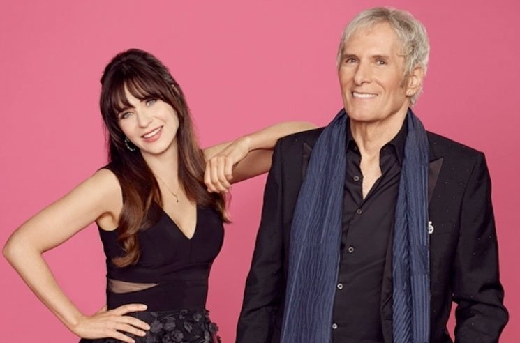 Zooey Deschanel and Michael Bolton Are Rebooting 'The Dating Game'