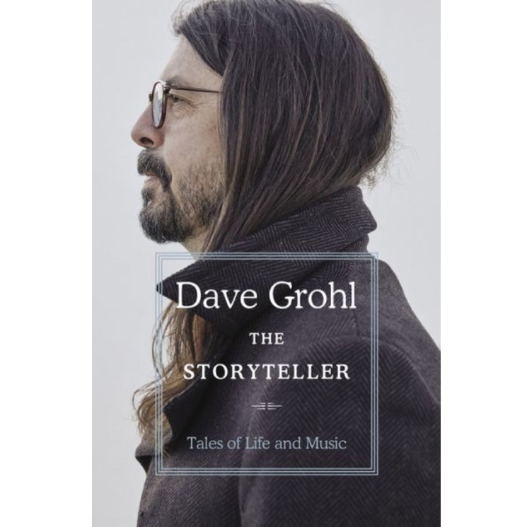 Dave Grohl Announces Memoir 'The Storyteller: Tales of Life and Music'