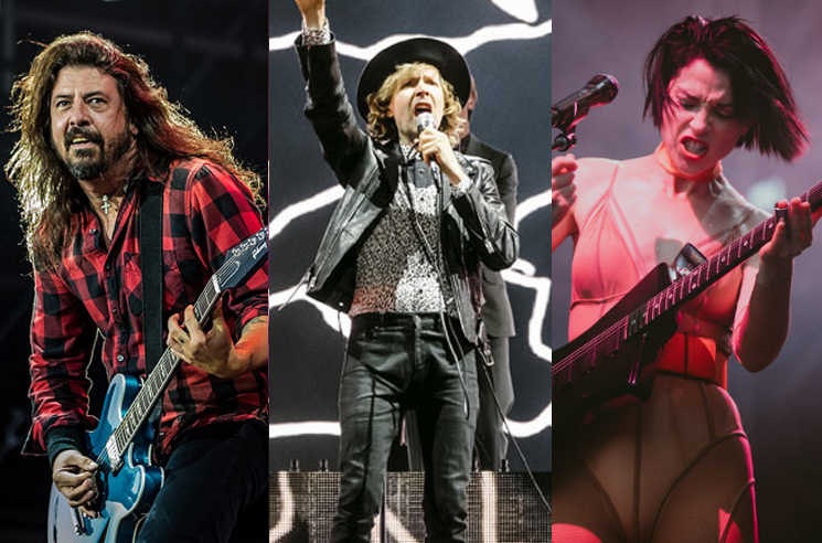Watch Dave Grohl Play Nirvana Songs with St. Vincent and Beck