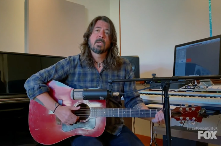 Watch Dave Grohl Perform 'My Hero' for Frontline Workers