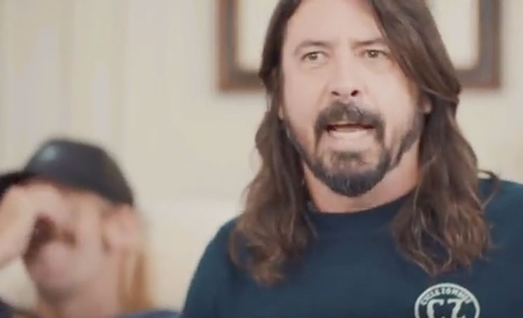 Here's Dave Grohl's Hilarious Christopher Walken Impression