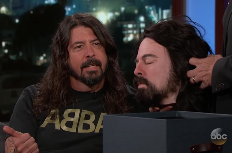 Dave Grohl Gifted Jimmy Kimmel His Own Severed Head