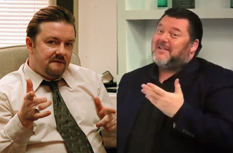 ​Everyone Thinks This British Guy Selling Duvets on TV Is David Brent from 'The Office'
