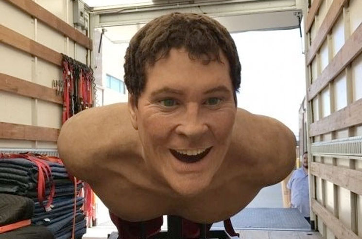 The Giant David Hasselhoff from the 'SpongeBob SquarePants Movie' Can Now Be Yours