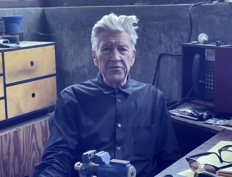 Here's David Lynch to Report on the Weather