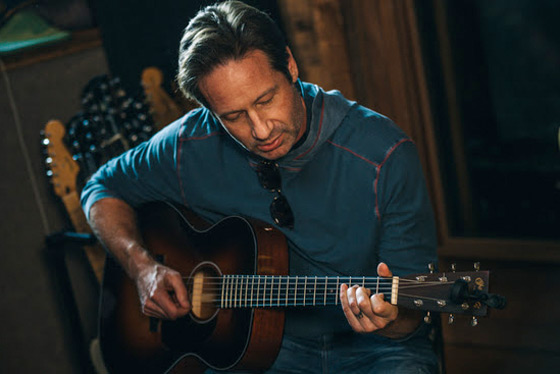 David Duchovny Is Taking a Break from 'The X-Files' to Release Another Album