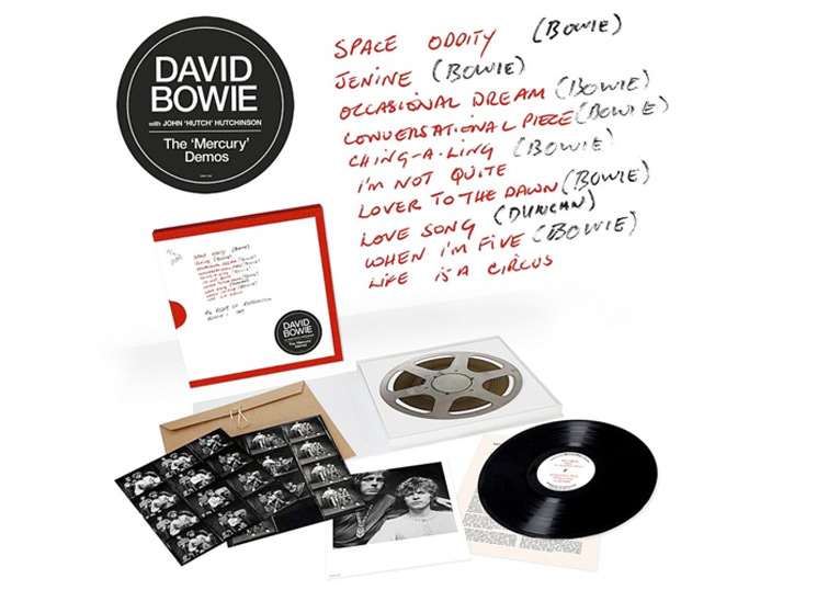 David Bowie's Previously Unreleased Early Recordings Collected on 'The Mercury Demos'