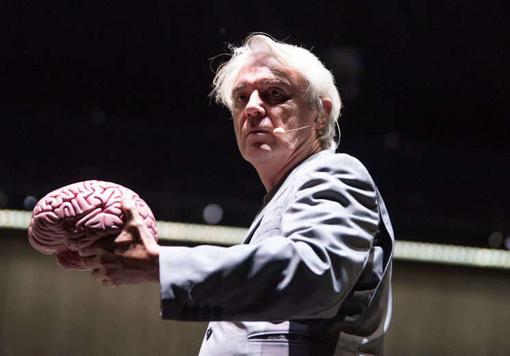 David Byrne to Explore the 'Theater of the Mind' with New Theatrical Show