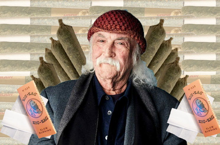 David Crosby Is Rating Your Joint-Rolling Skills on Twitter