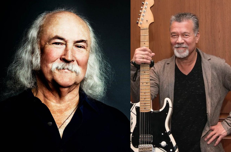David Crosby on Eddie Van Halen: 'Meh'
