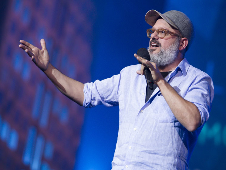 David Cross Discusses Facing Accusations, Being a New Dad and the Cynicism of His 'Oh Come On' Tour