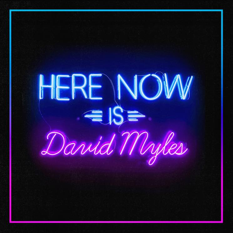 David Myles 'Here Now' (EP stream)