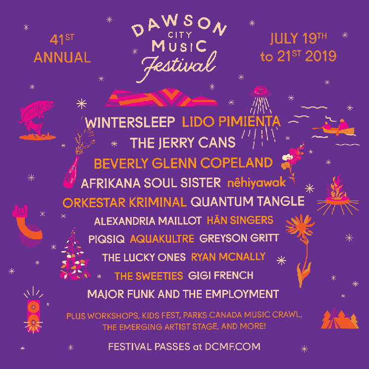 Dawson City Music Fest Gets Wintersleep, Lido Pimienta for 2019 Edition