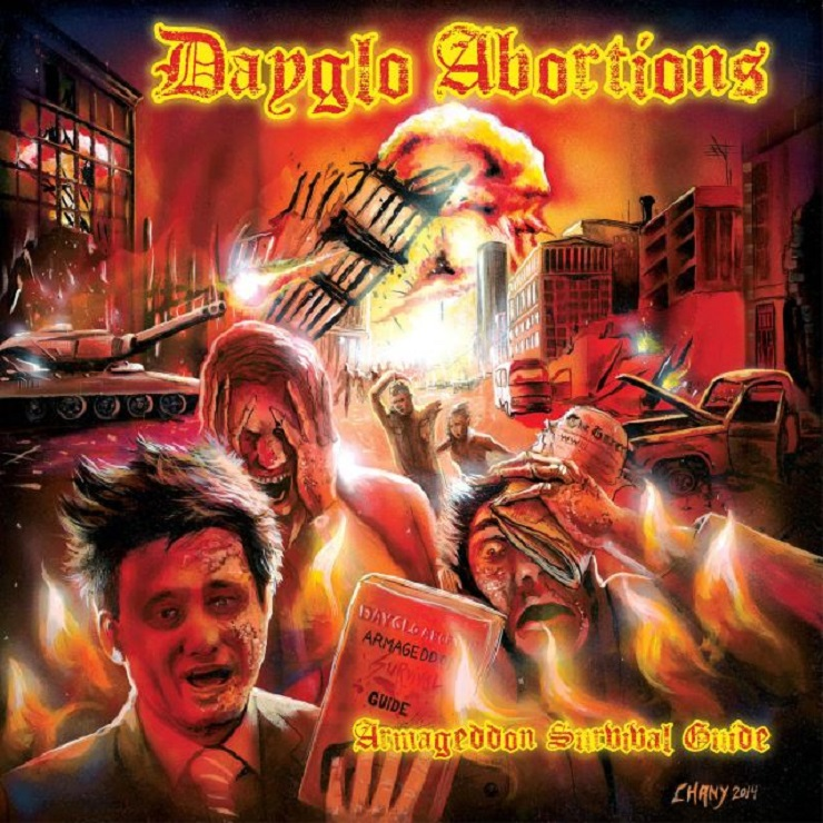 Dayglo Abortions Return with 'Armageddon Survival Guide'