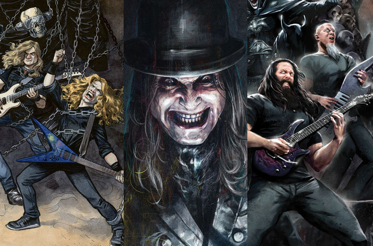 DC Comics Get Ozzy Osbourne, Megadeth, Dream Theater for New Variant Covers