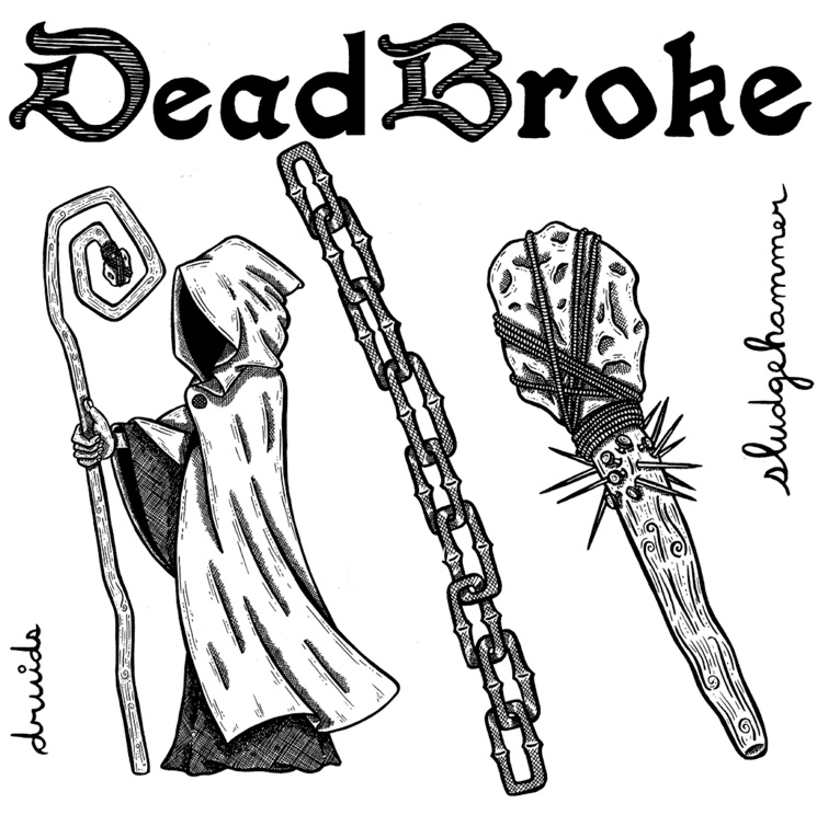 Toronto's Dead Broke Return with 'Druids' EP