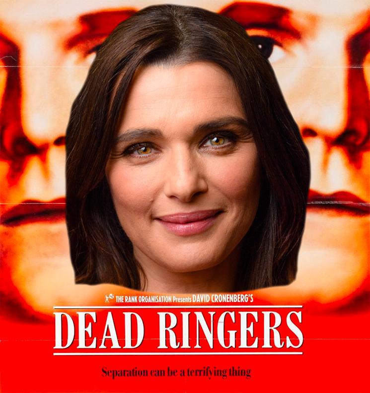 David Cronenberg's 'Dead Ringers' Is Becoming an Amazon Series Starring Rachel Weisz