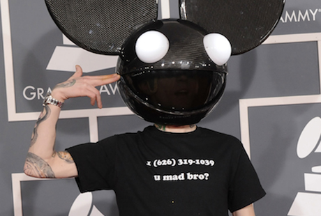 Deadmau5 Pranks Skrillex by Sharing His Phone Number at Grammys