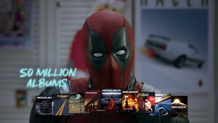 Watch Deadpool Defend Nickelback from Fred Savage's Hate