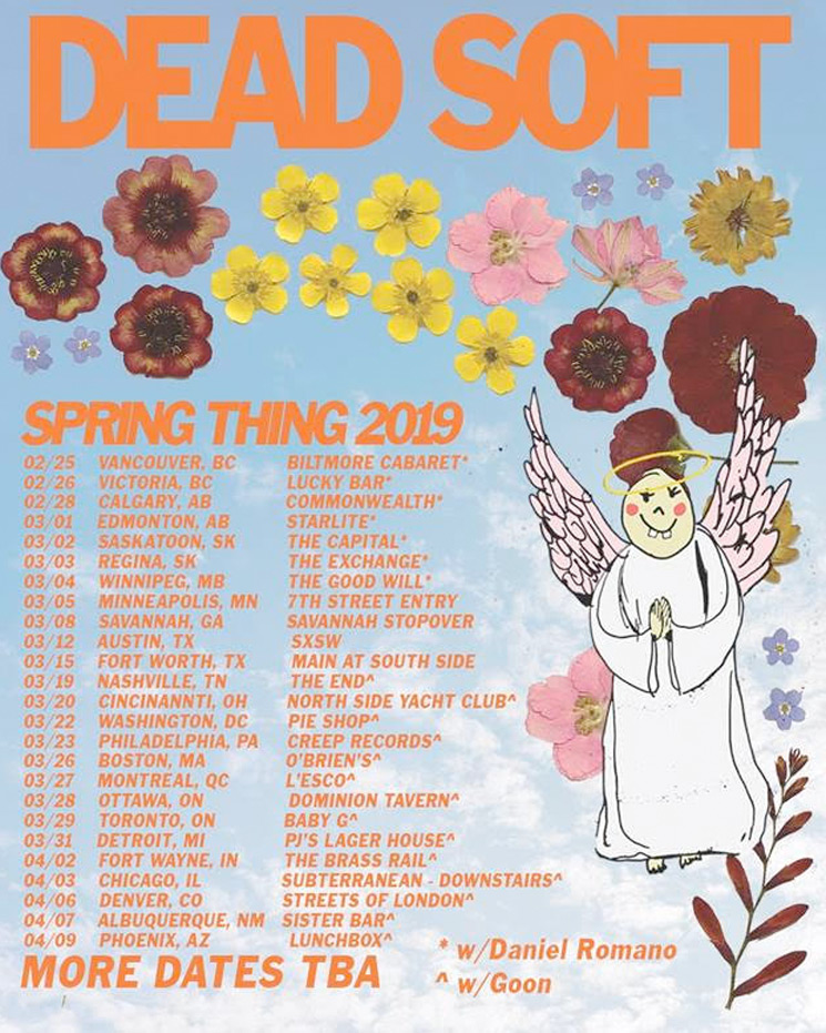 "Dead Soft Announce ""Spring Thing 2019"" Tour"