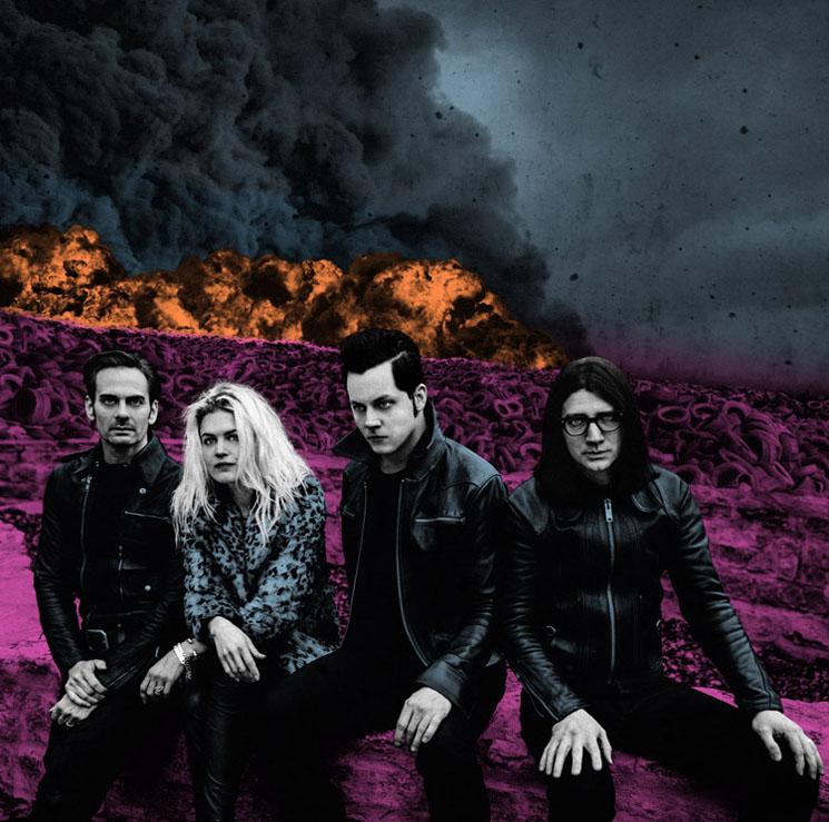 The Dead Weather Return with 'Dodge & Burn' LP