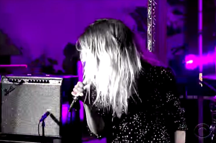 The Dead Weather 'I Feel Love (Every Million Miles)' (live on 'Colbert')