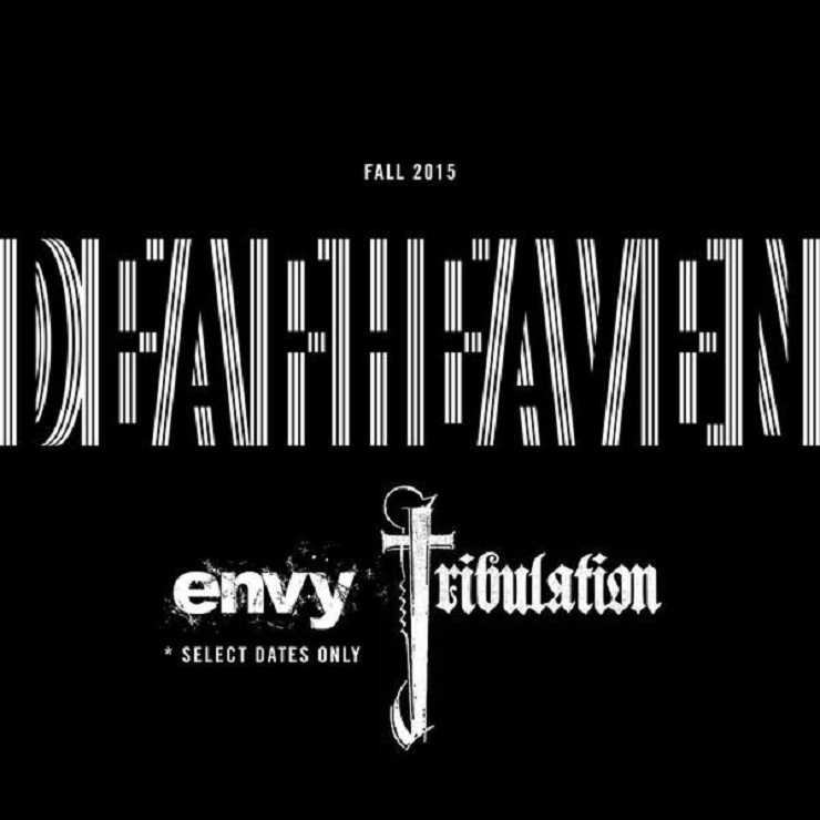 Deafheaven Announce 'New Bermuda' North American Tour with Tribulation, Envy
