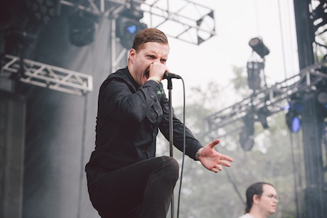 Deafheaven Green Stage, Union Park, Chicago IL, July 20