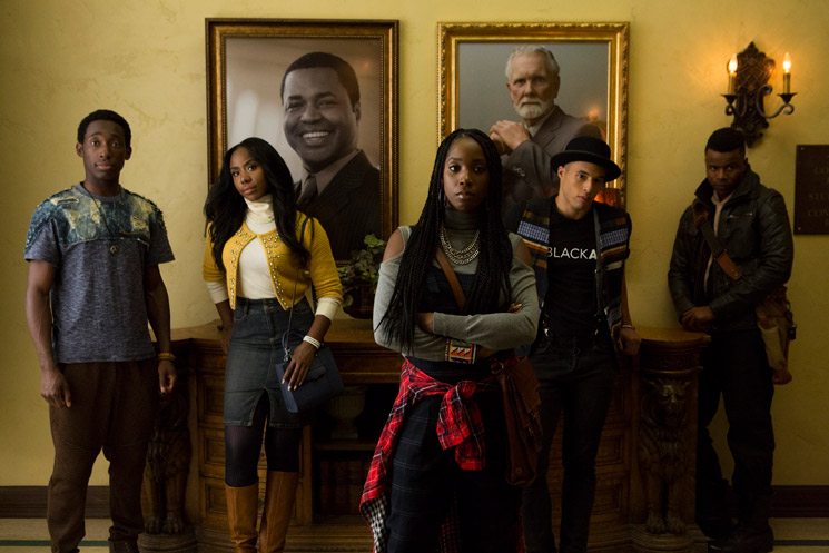 ​Dear White People Created by Justin Simien