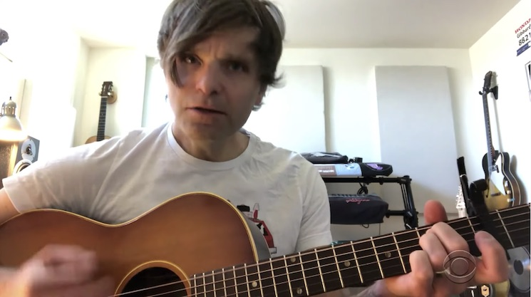 Death Cab for Cutie's Ben Gibbard Plays New Quarantine Song on 'Colbert'