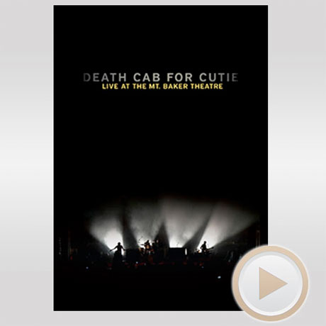 Death Cab for Cutie Detail <i>Live at the Mt. Baker Theatre</i> Concert DVD