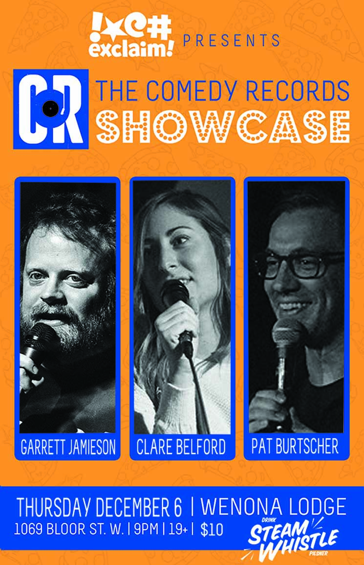 Clare Belford, Garrett Jamieson and Pat Burtscher Reflect on 2018 at a Comedy Records/Exclaim! Standup Showcase