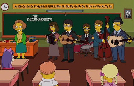 The Decemberists Line Up 'Simpsons' Appearance