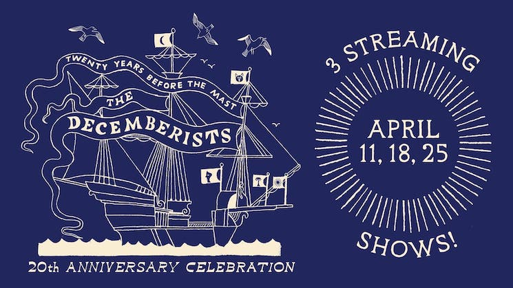 The Decemberists Announce 20th Anniversary Livestream Shows