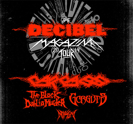Carcass Join Forces with Black Dahlia Murder and Gorguts for North American Tour