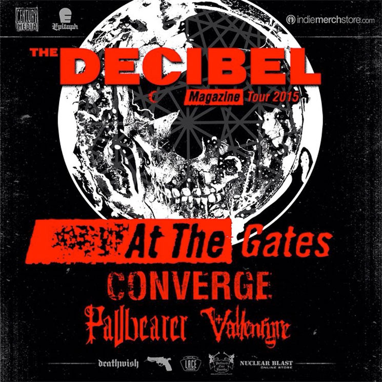 Pallbearer Join At the Gates, Converge on Decibel Magazine Tour